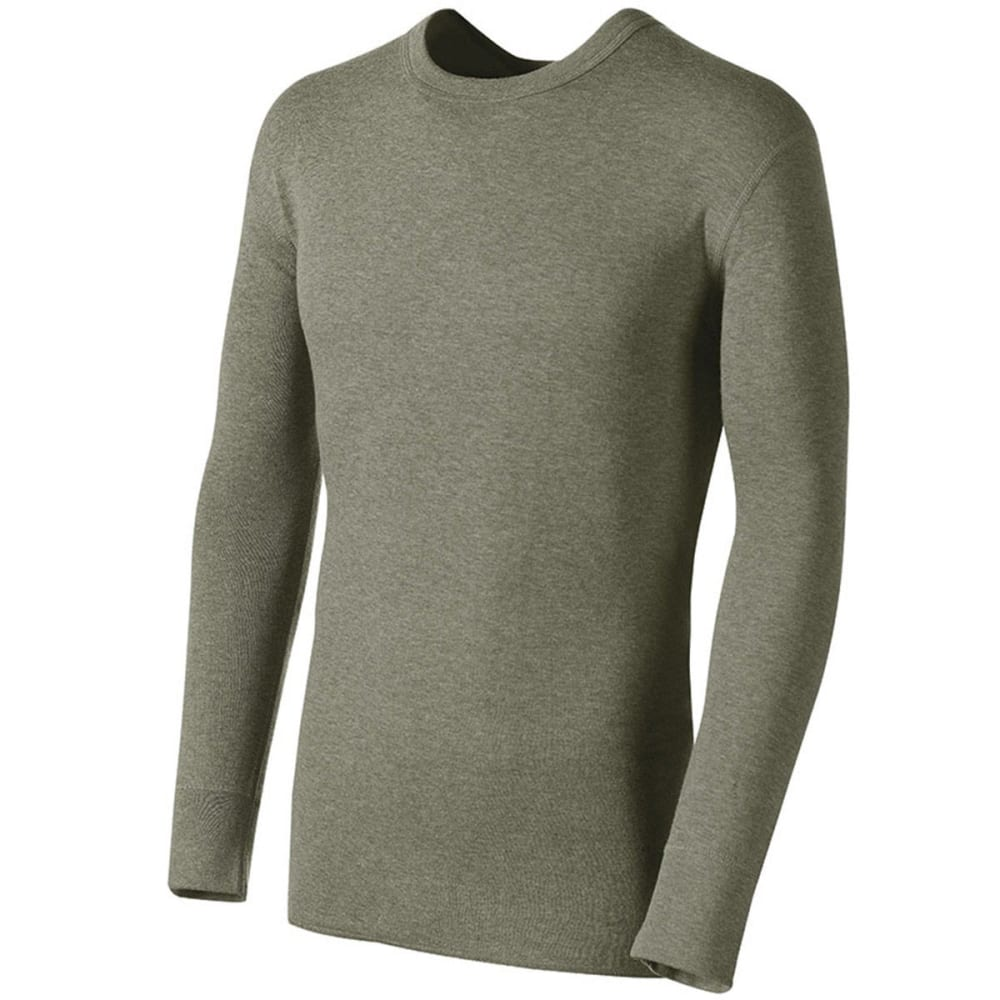 DUOFOLD Men's Mid-Weight Thermal Top - OVK- olive