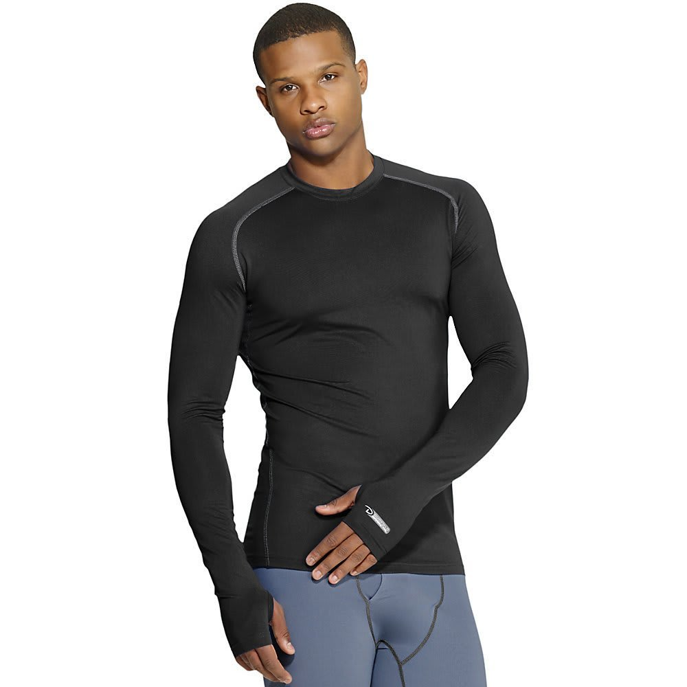 DUOFOLD Men's Varitherm Thermal Top - BLACK