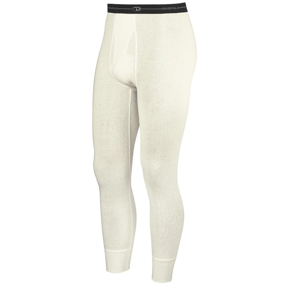 DUOFOLD Men's Mid-Weight Ankle-Length Thermal Pants - ww-winter white