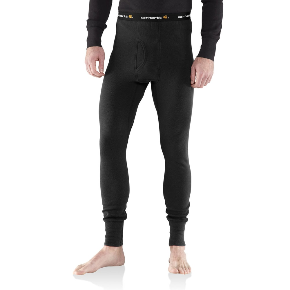 CARHARTT Men's Base Force Cotton Super-Cold Weather Bottoms - BLACK 001
