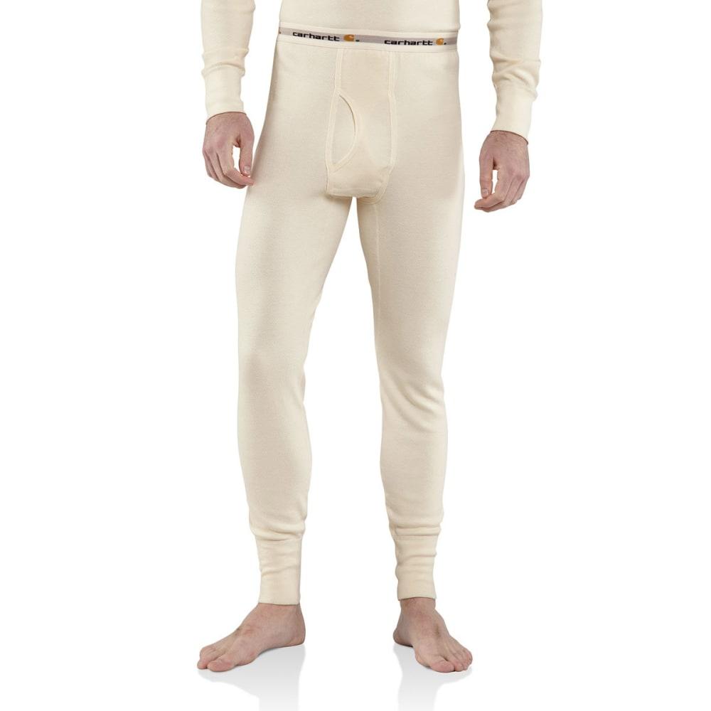 CARHARTT Men's Base Force Cotton Super-Cold Weather Bottoms - NATURAL 103