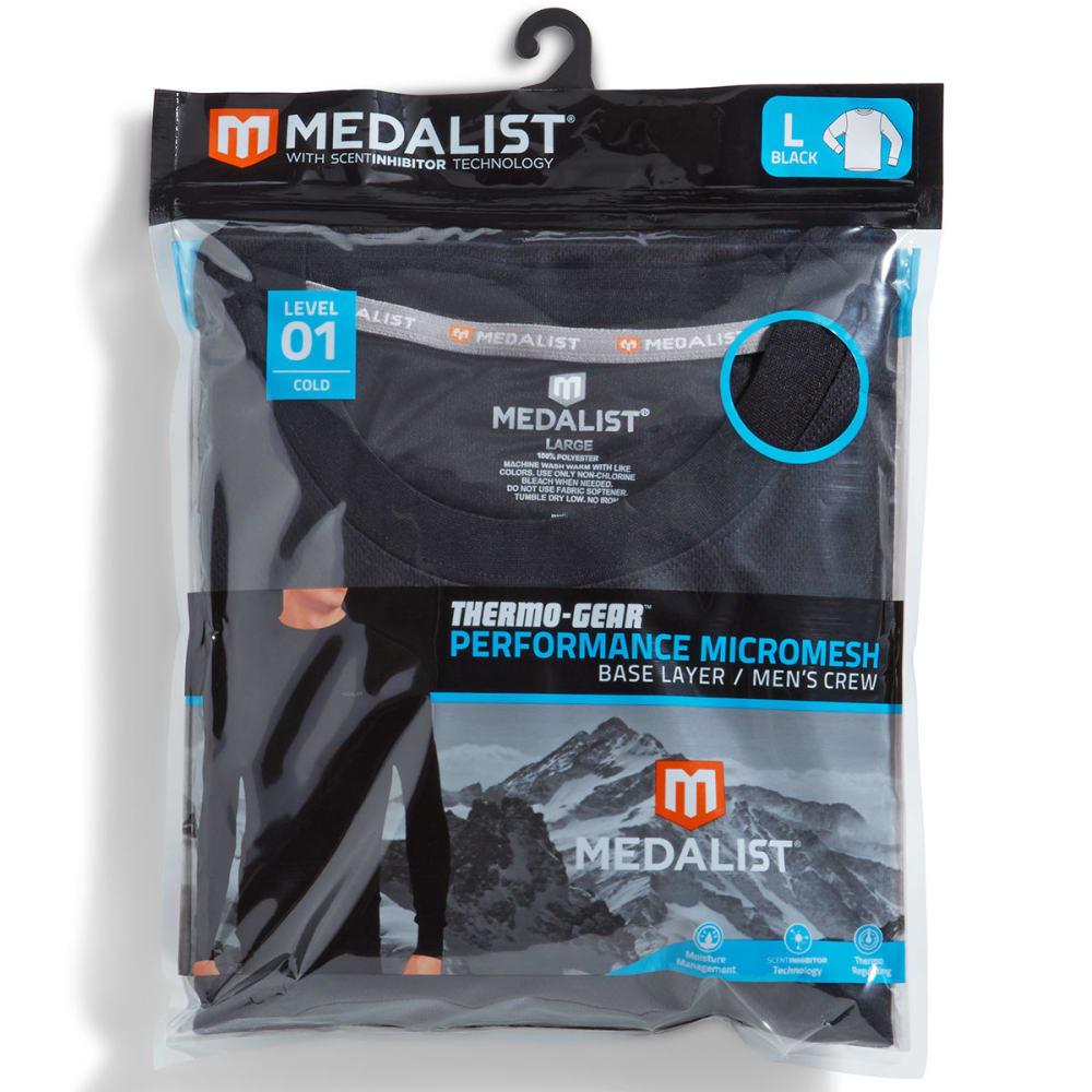 MEDALIST Men's Hybrid Mesh Top - ONYX
