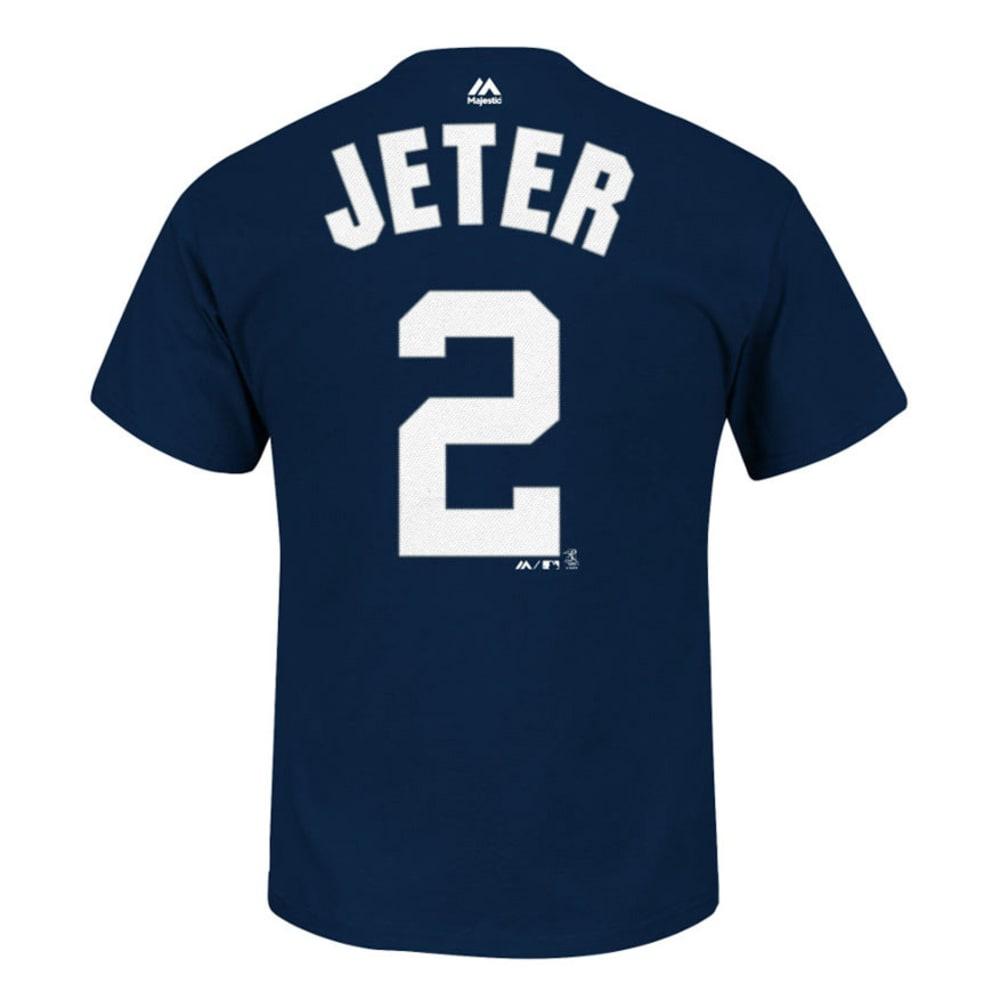 NEW YORK YANKEES Boys' Jeter #2 Tee - NAVY