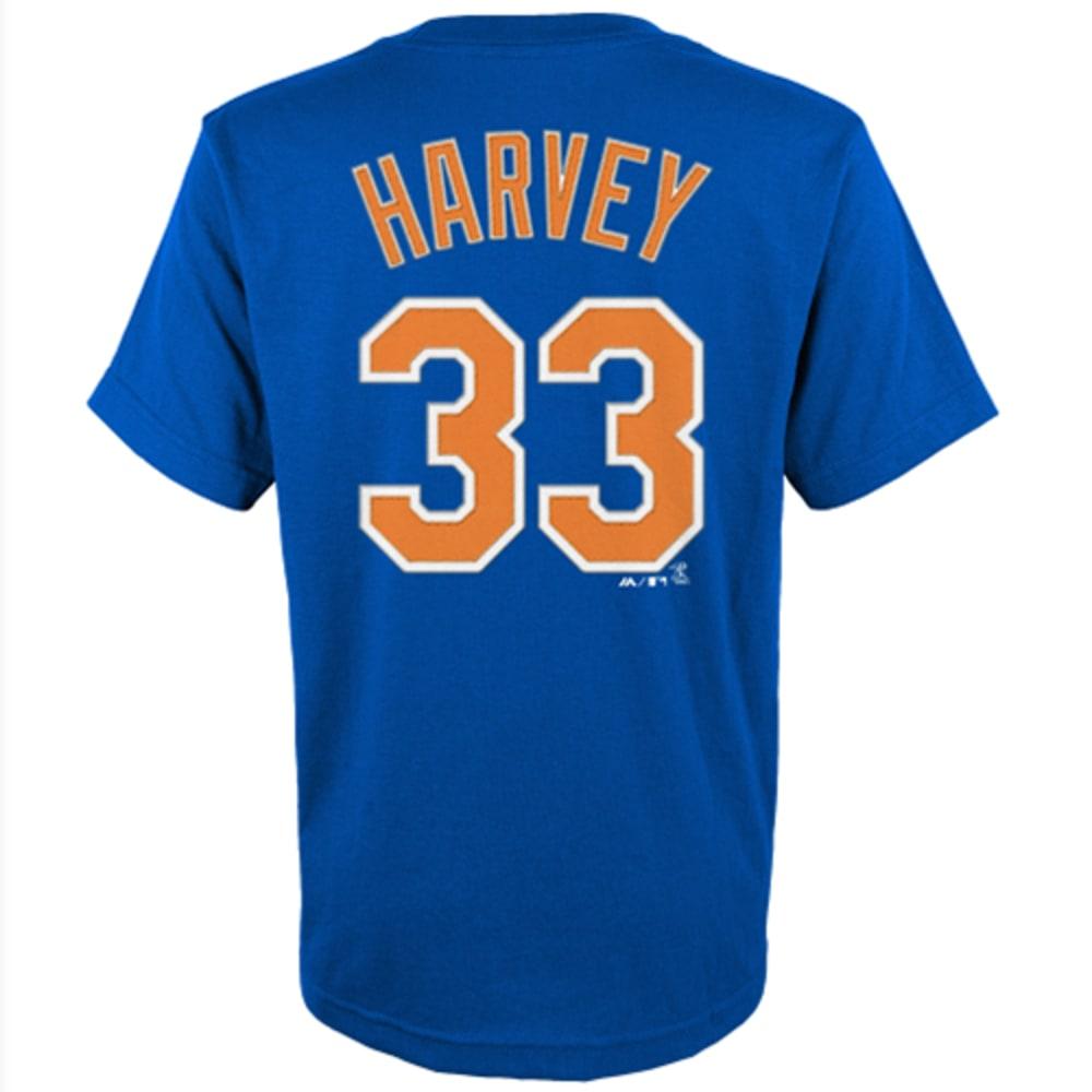 NEW YORK METS Kids' Harvey #33 Jersey - ROYAL BLUE