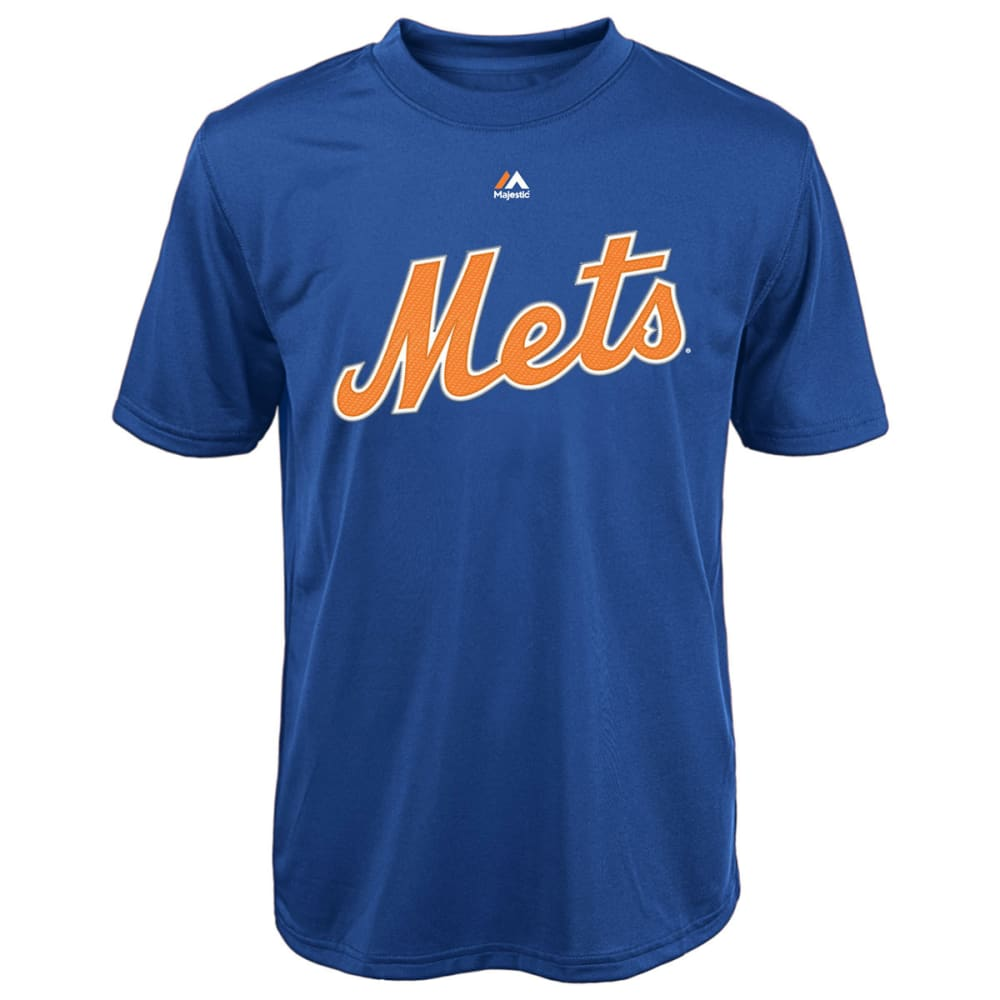 NEW YORK METS Boys' Matt Harvey #33 Synthetic Tee - ROYAL BLUE