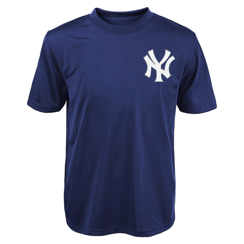 NEW YORK YANKEES Boys' Masahiro Tanaka #19 Synthetic Tee - NAVY