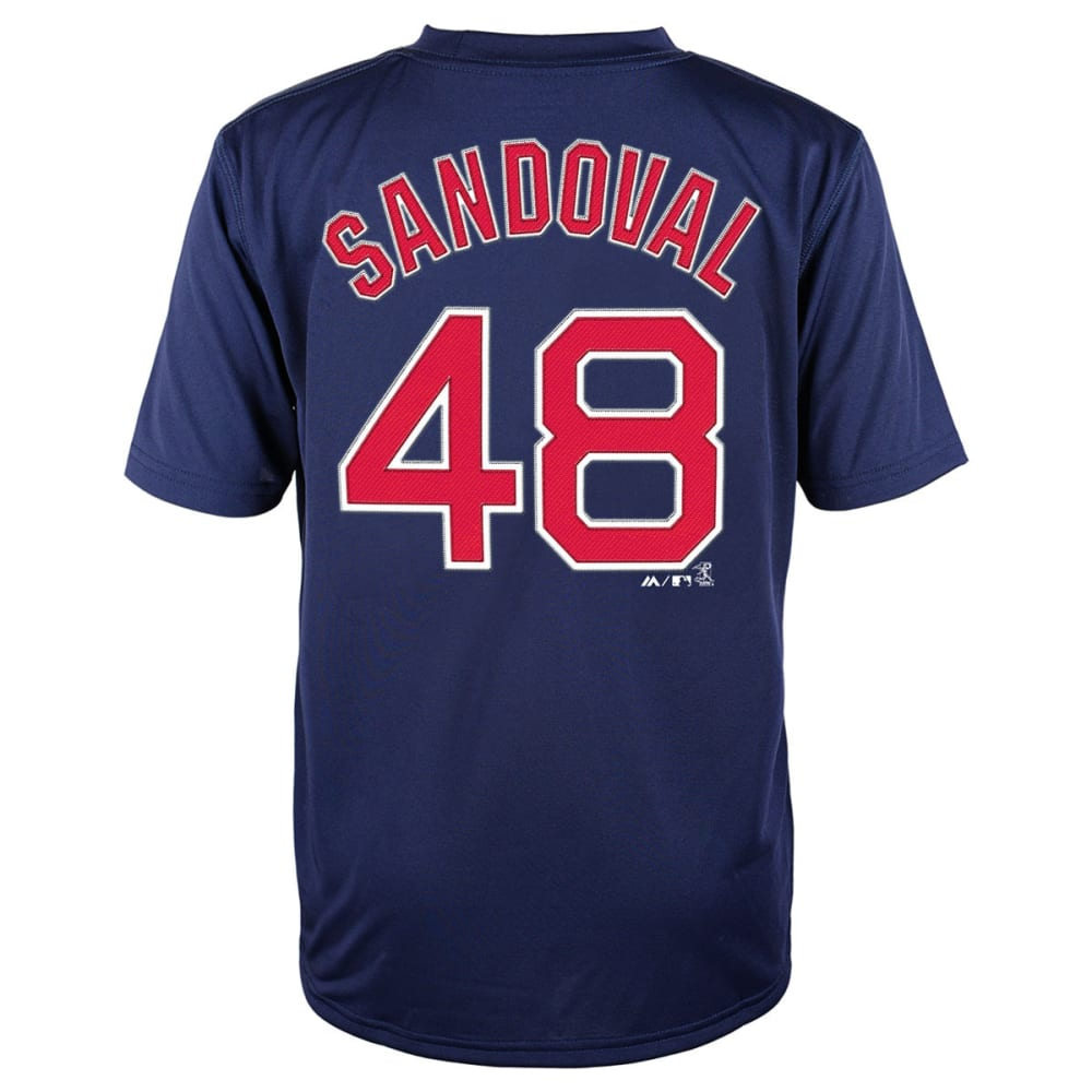 BOSTON RED SOX Boys' Pablo Sandoval, #48 Tee - NAVY