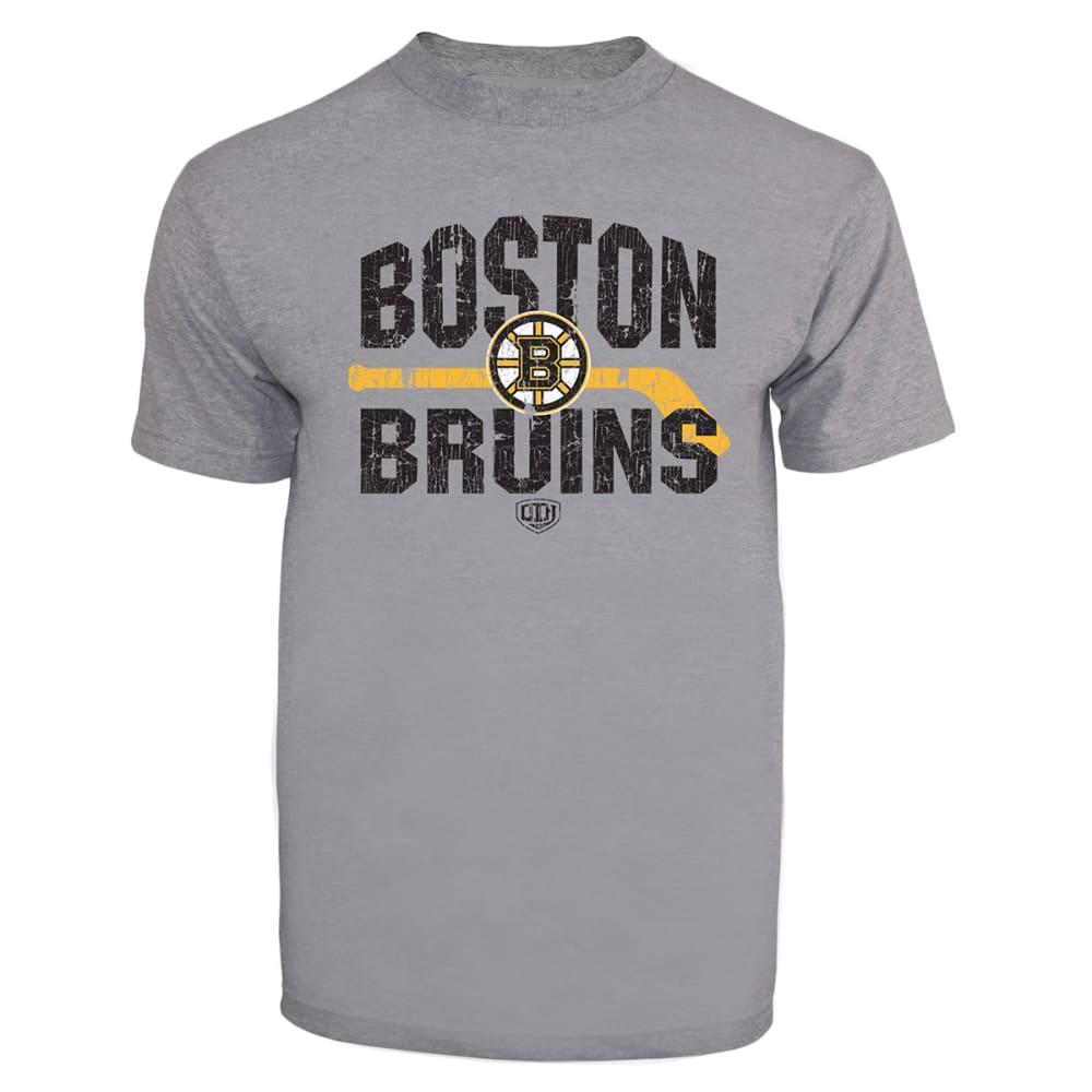 BOSTON BRUINS Boys' Rockaway Short Sleeve Tee - GREY