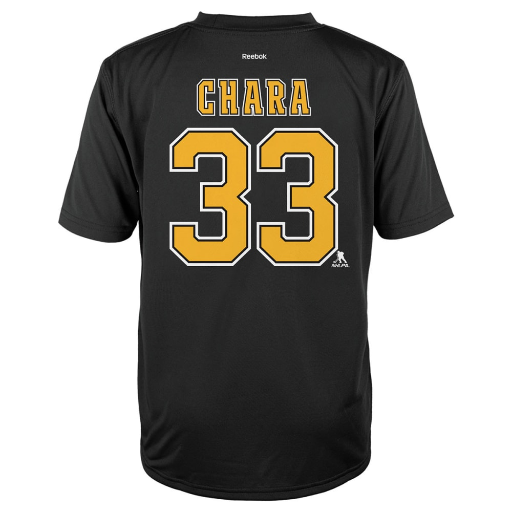 BOSTON BRUINS Kids' Zdeno Chara #33 Short Sleeve Tee - BLACK