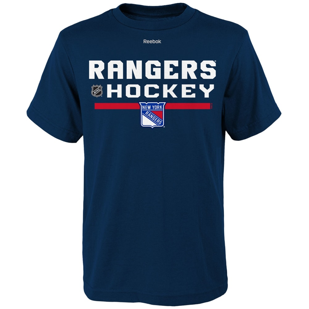NEW YORK RANGERS Boys' Authentic Freeze Short-Sleeve Tee - DRAGONFLY