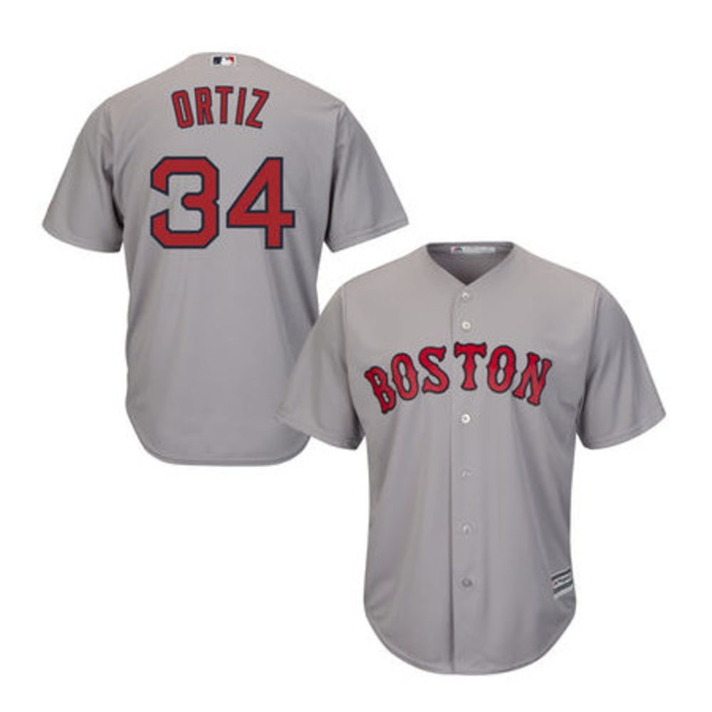 BOSTON RED SOX David Ortiz #34 Cool Base® Authentic On-Field Home Jersey - RED SOX