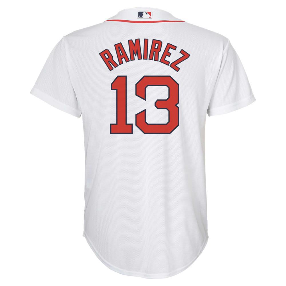 BOSTON RED SOX Boys' Manny Ramirez, #13 Replica Jersey - WHITE