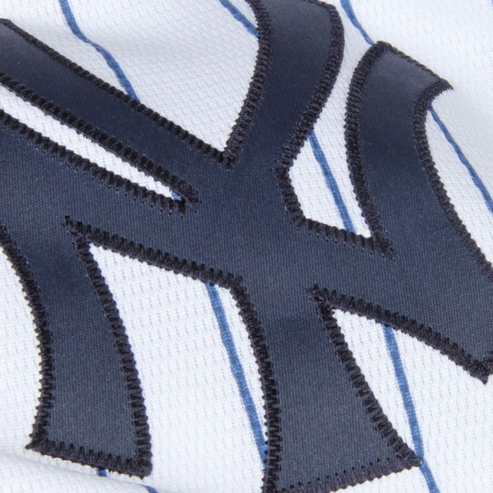NEW YORK YANKEES Kids' Coolbase Home Pinstripe Replica Jersey - YANKEES