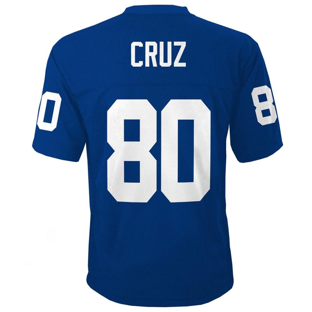 NEW YORK GIANTS Boys' Cruz #80 Replica Jersey - ROYAL BLUE