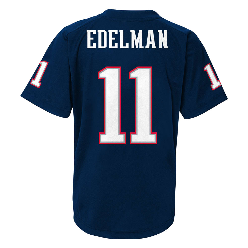 NEW ENGLAND PATRIOTS Youth Edelman #11 Jersey - NAVY