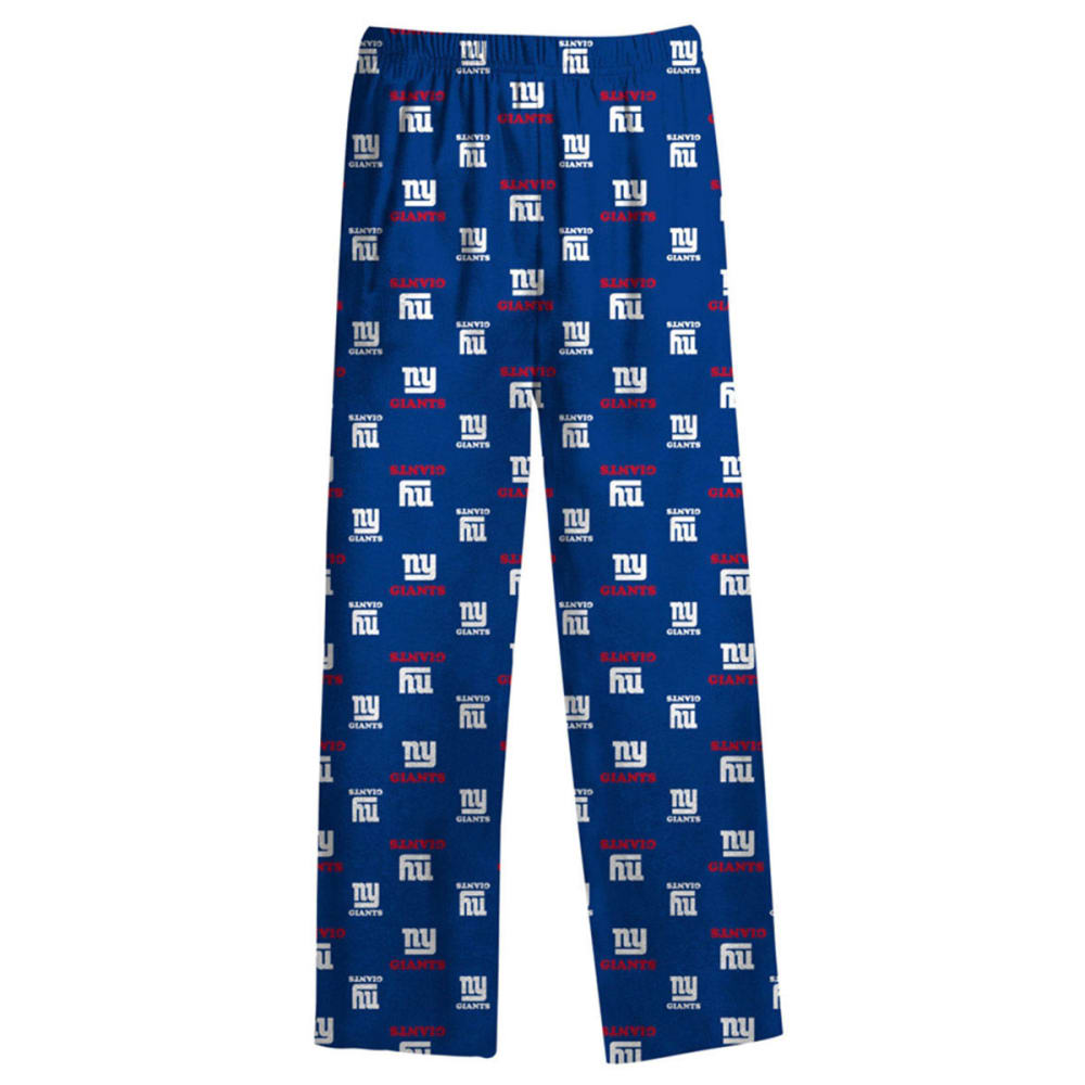 NEW YORK GIANTS Boys'  All Over Printed Lounge Pants - ROYAL BLUE