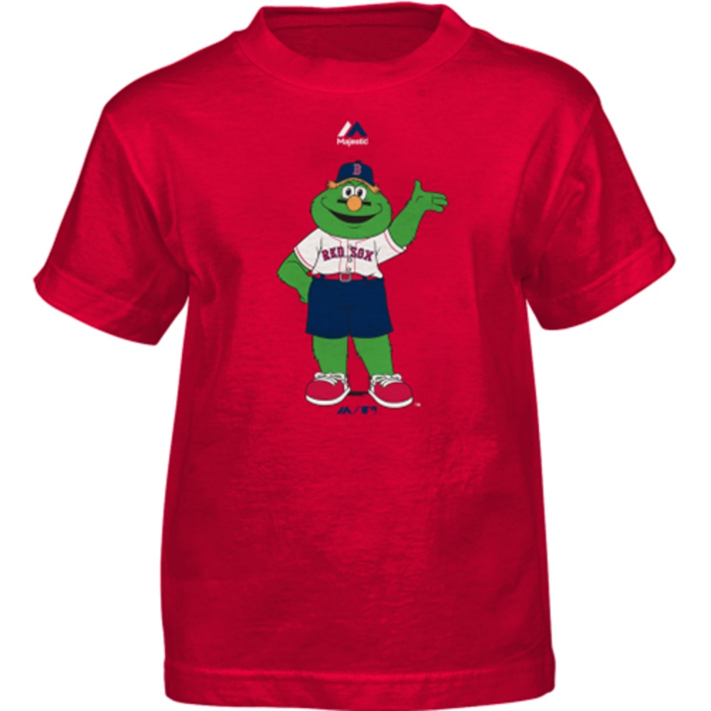 BOSTON RED SOX Boys' Wally Mascot Tee - RED