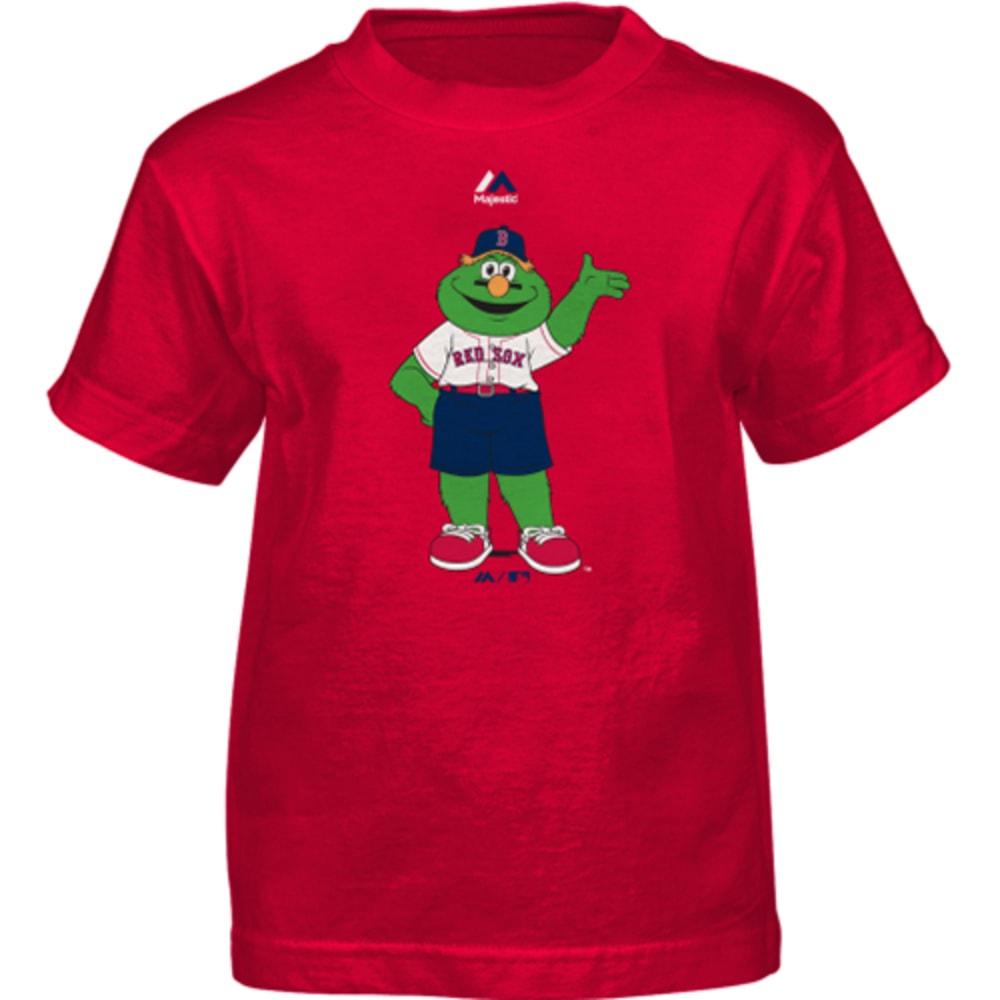 BOSTON RED SOX Boys' Wally Mascot Tee - RED