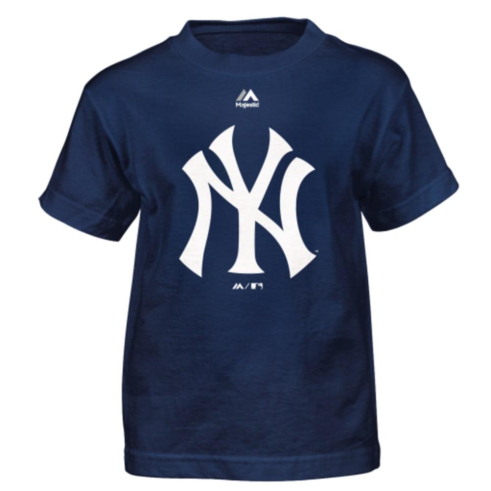 NEW YORK YANKEES Boys' Primary Logo Tee - YANKEES