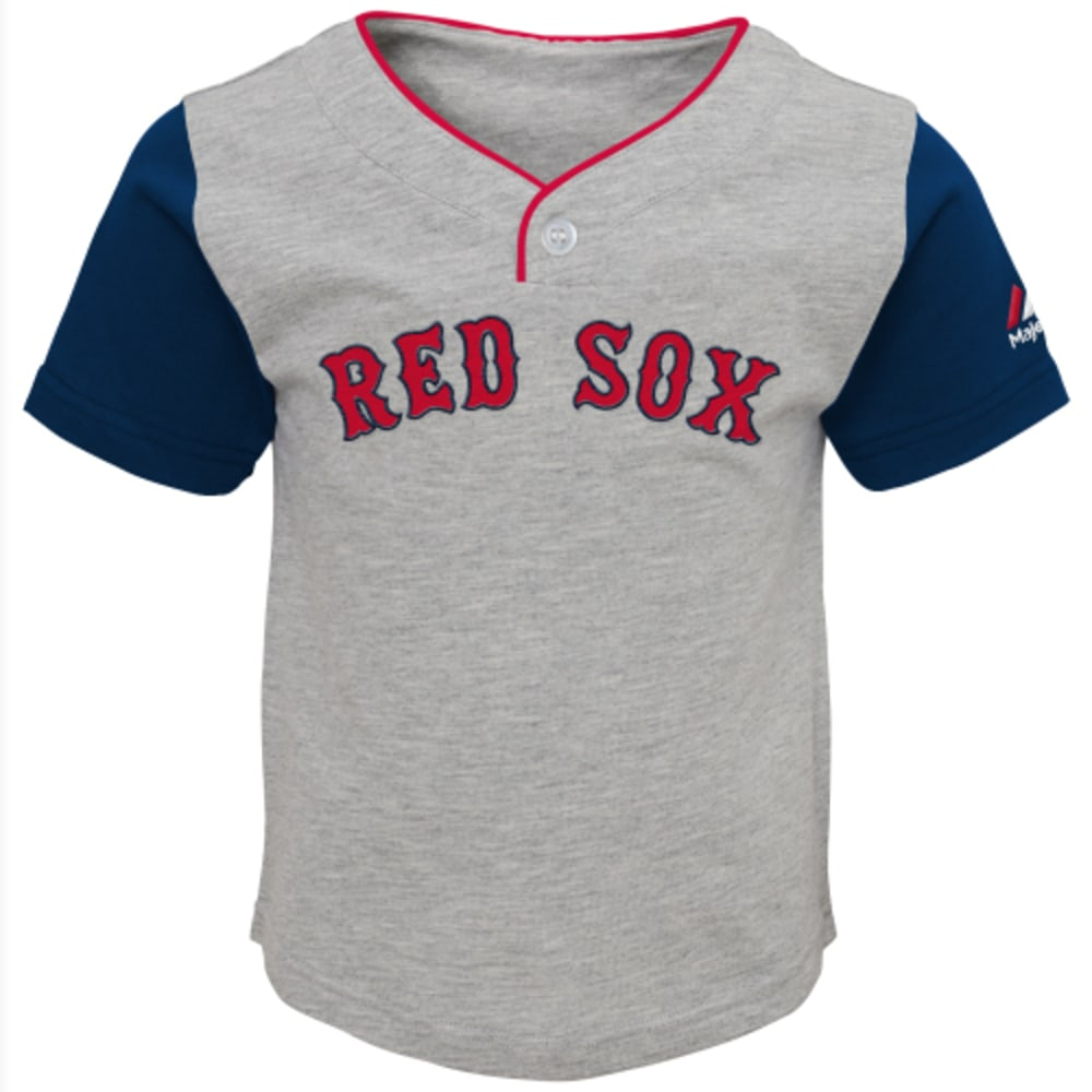 BOSTON RED SOX Boys' Batting Practice Short Set - RED SOX