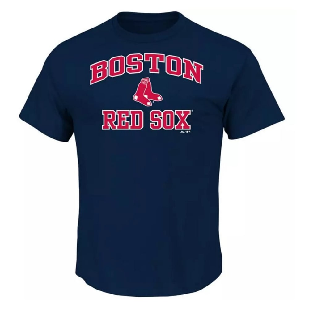 BOSTON RED SOX Boys' Heart and Soul Tee - RED SOX