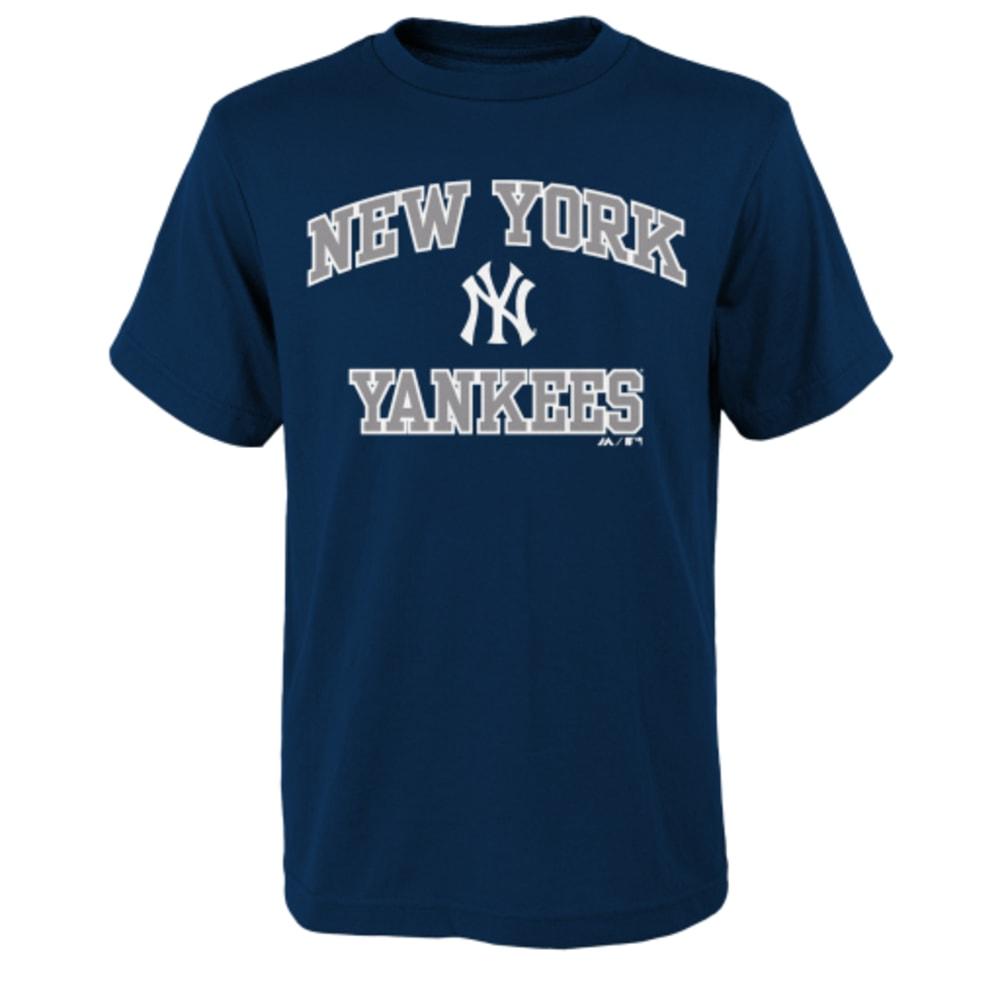 NEW YORK YANKEES Boys' Heart and Soul Tee - YANKEES