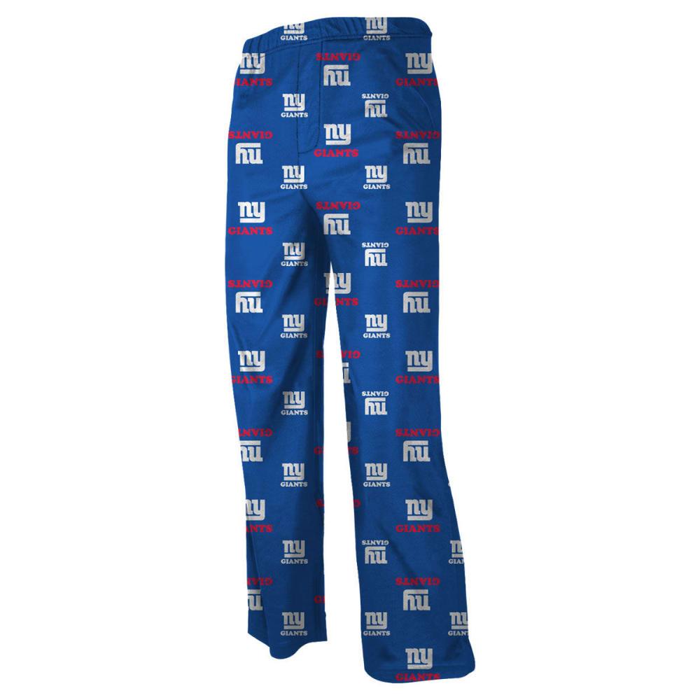 NEW YORK GIANTS Boys' All Over Print Pants - ROYAL BLUE