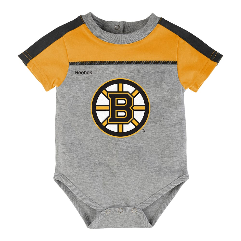 BOSTON BRUINS Infant Horizon Short-Sleeve Onesie & Pant Set - BRUINS