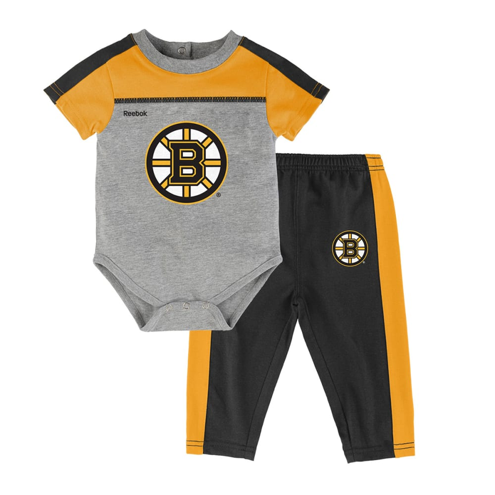 BOSTON BRUINS Infant Horizon Short-Sleeve Onesie & Pant Set - BRUINS