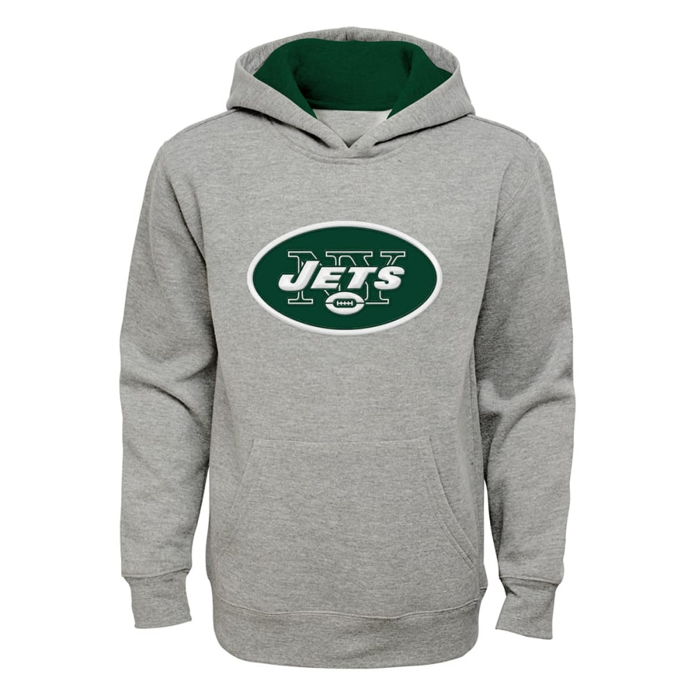 NEW YORK JETS Boys' Primary Pullover Hoodie - GREEN