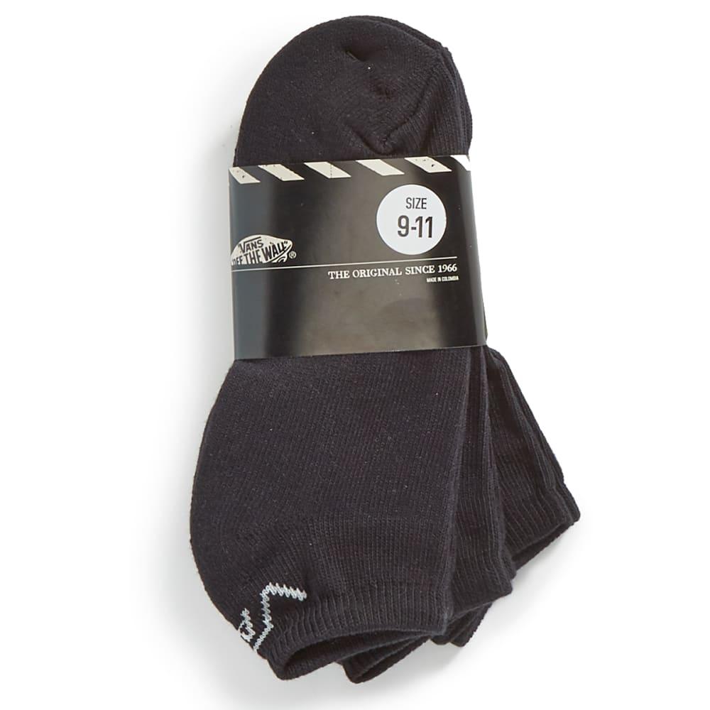 VANS Guys' Classic Low Socks 3-Pack - BLACK