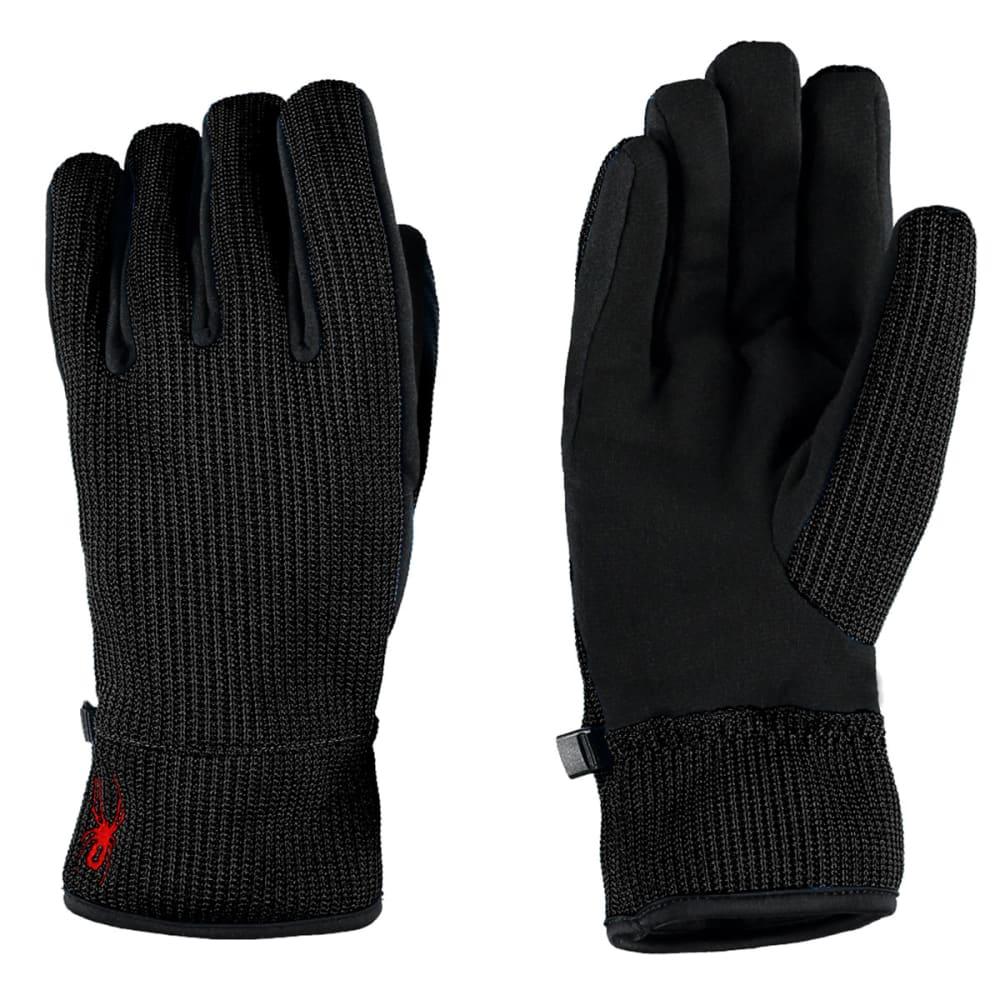 SPYDER Men's Core Sweater Conduct Gloves - ONYX