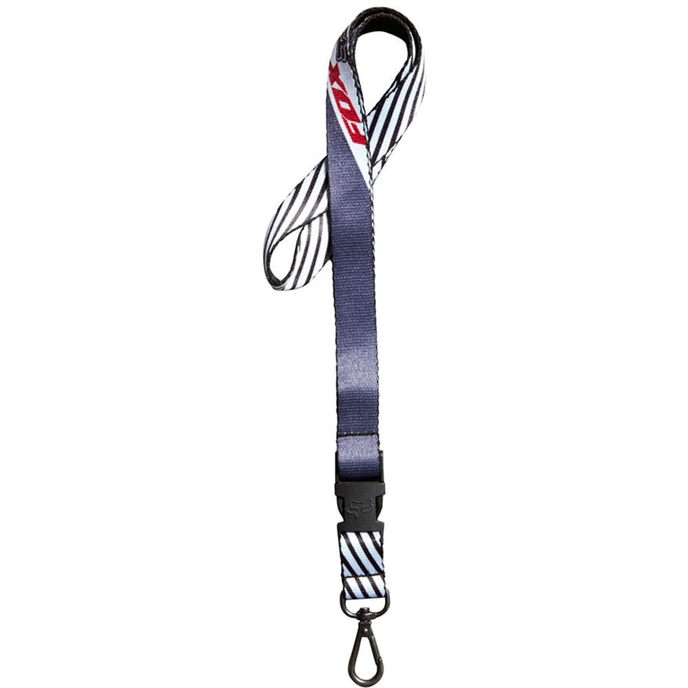 FOX HEAD Decadence Lanyard - CHARCOAL RED