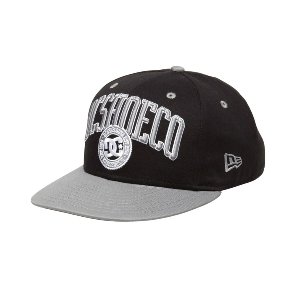 DC SHOES RD League Snapback Hat - BLACK/GREY