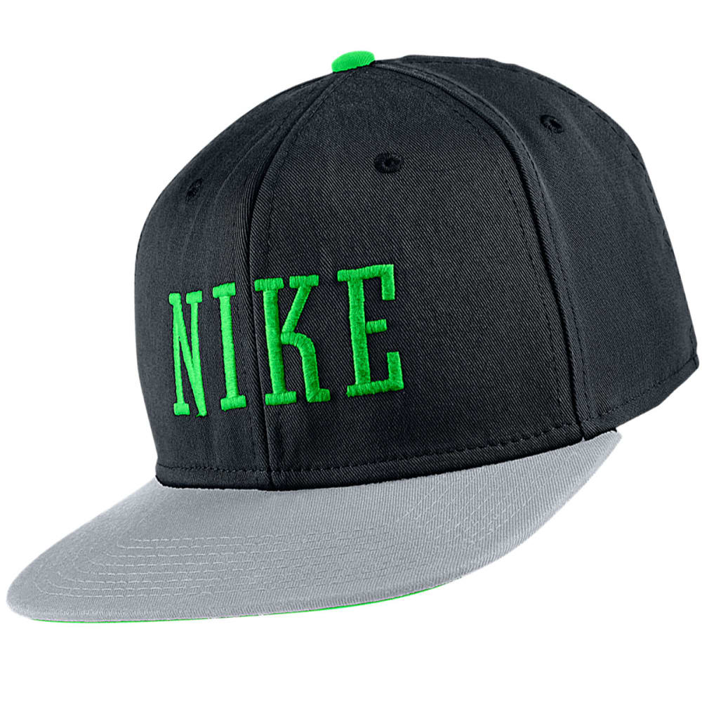 NIKE SB Graphic Snapback Hat - BLACK/GREEN