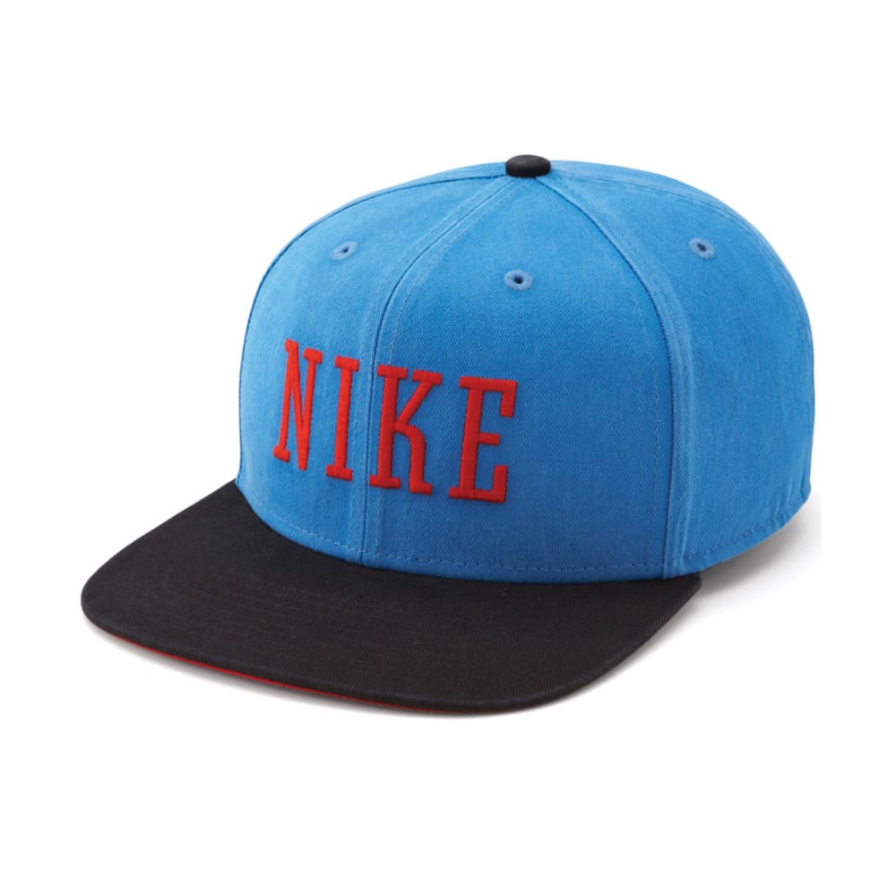 NIKE SB Graphic Snapback Hat - LIGHT PHOTO BLUE