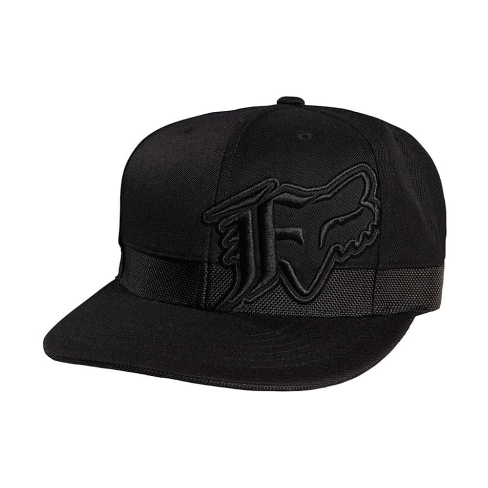 FOX HEAD Godspeed Snapback Hat - BLACK