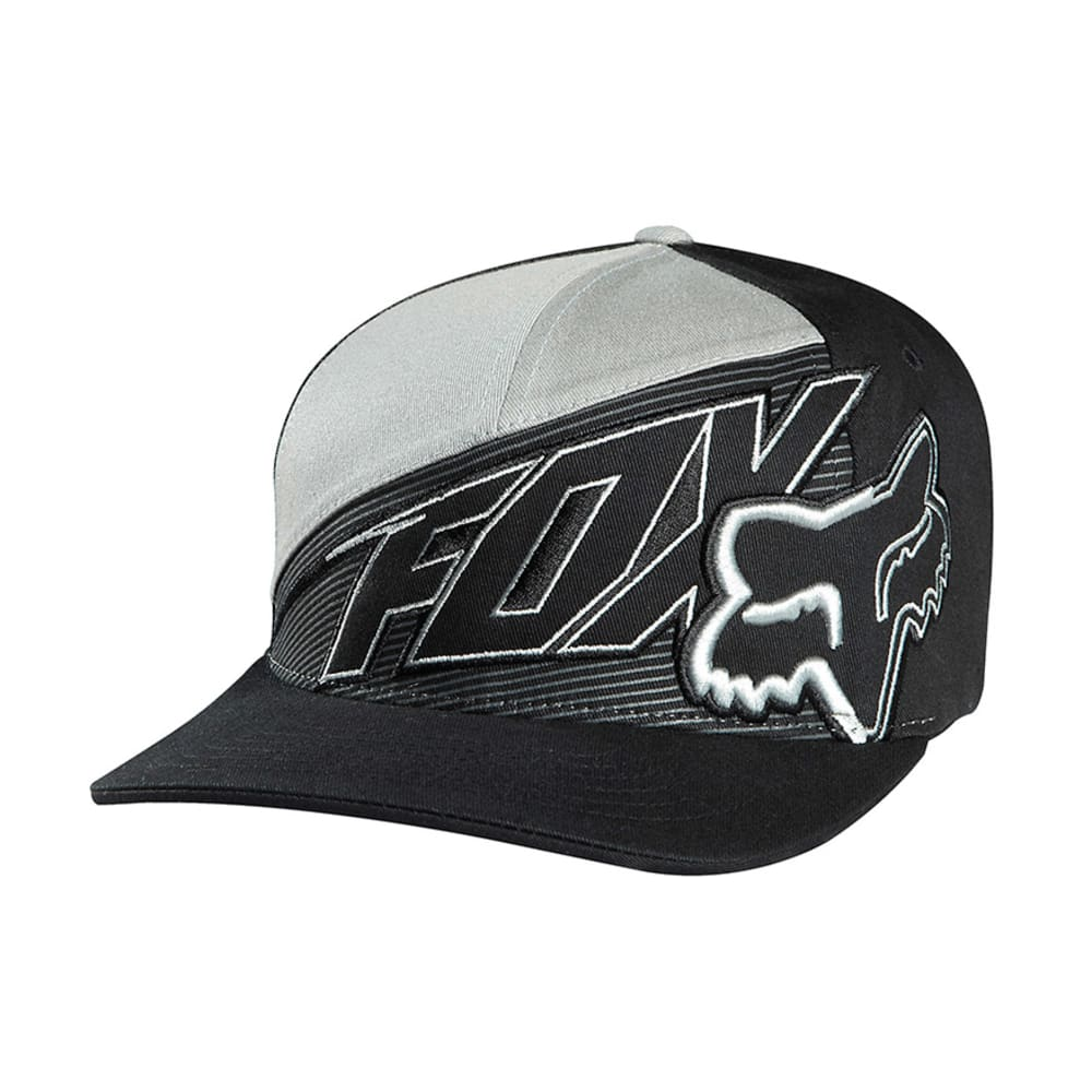 FOX HEAD Fair Territory Fitted Hat - BLACK