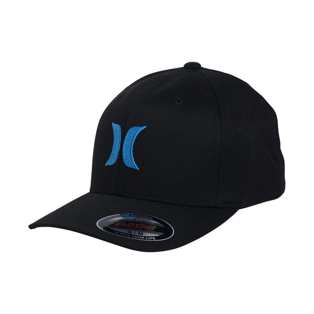 HURLEY Young Men's One & Only Logo Hat - BLACK