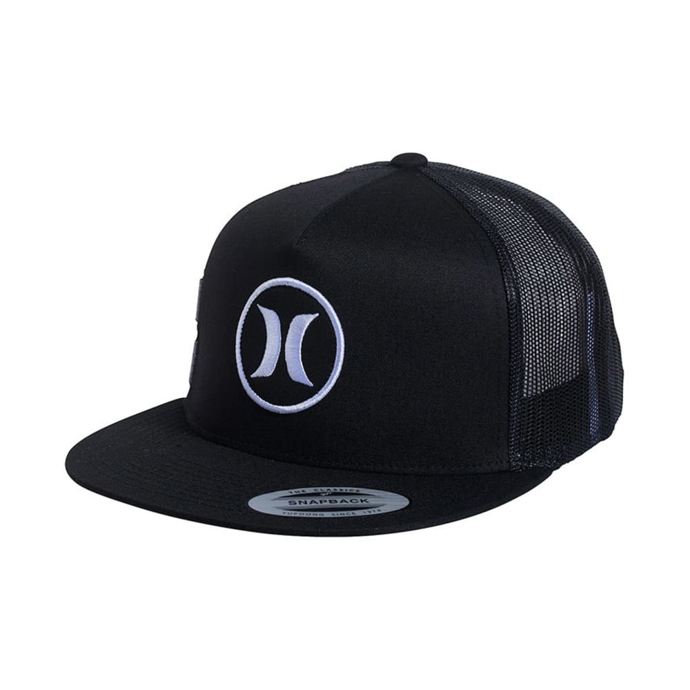 HURLEY Men's Block Party Movement Hat - BLACK