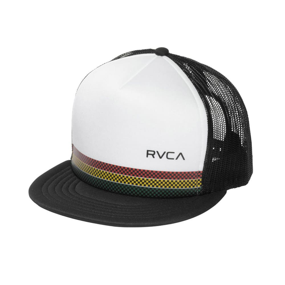 RVCA Young Men's Draught Trucker - BLACK/WHITE