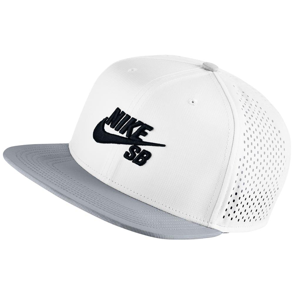 NIKE SB Performance Trucker Hat - WHITE/PERIWINKLE
