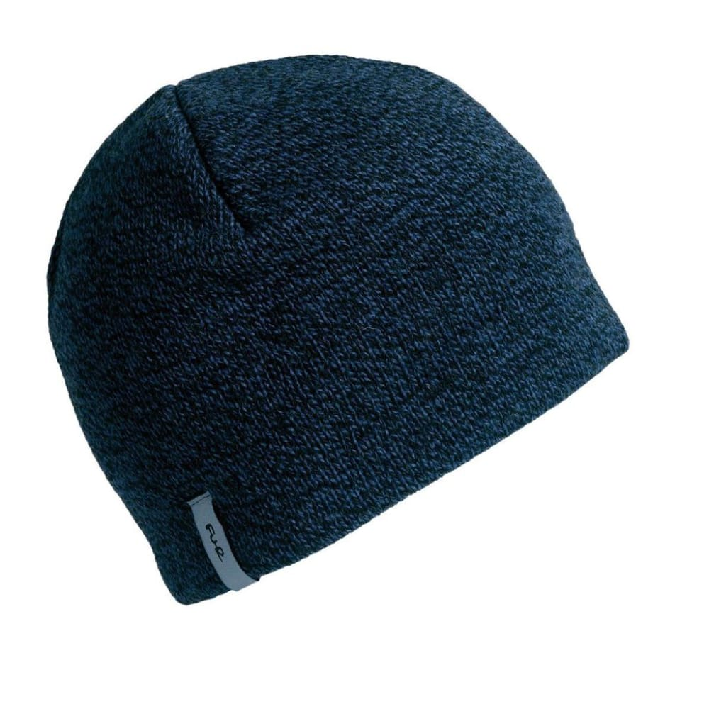 TURTLE FUR N.E. Solid Ragg Wool Beanie - SCATTER/VOLCANO