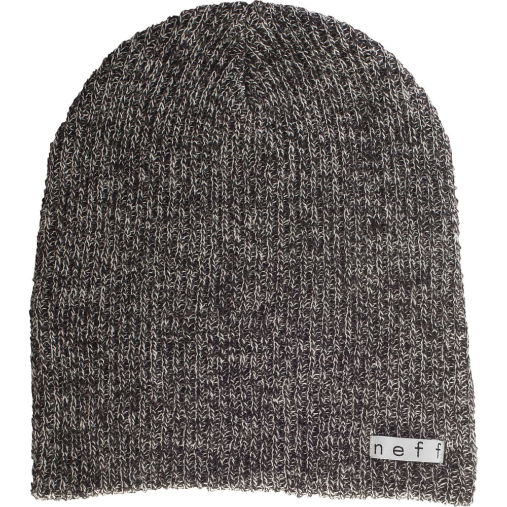 NEFF Guys' Daily Heather Beanie - BLACK/WHITE-BKWH