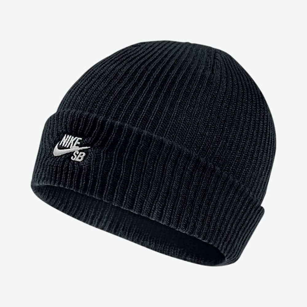 NIKE SB Guys' Fisherman Knit Beanie - BLACK