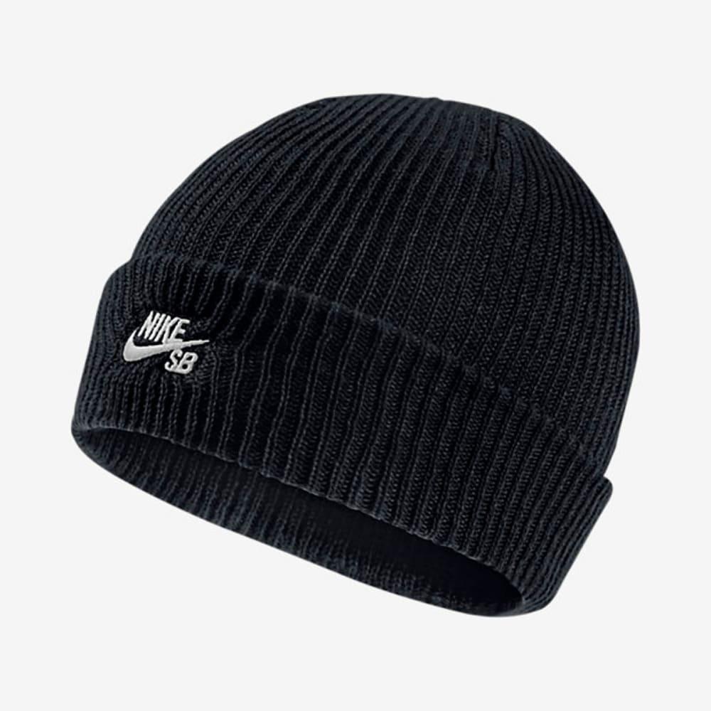 NIKE SB Guys' Fisherman Knit Beanie - BLACK
