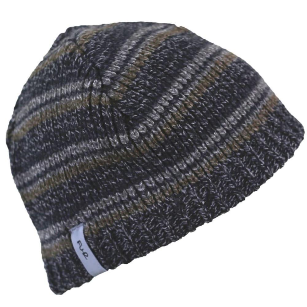 TURTLE FUR Schroeder Ragg Wool Beanie - CHARCOAL