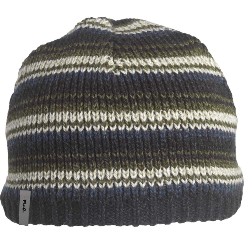 TURTLE FUR Schroeder Ragg Wool Beanie - BOZZETTO BLUE