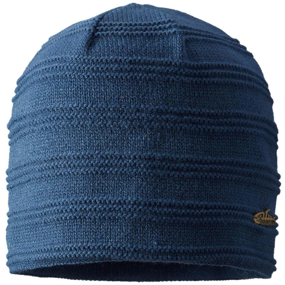 SCREAMER Ripple Beanie - DENIM
