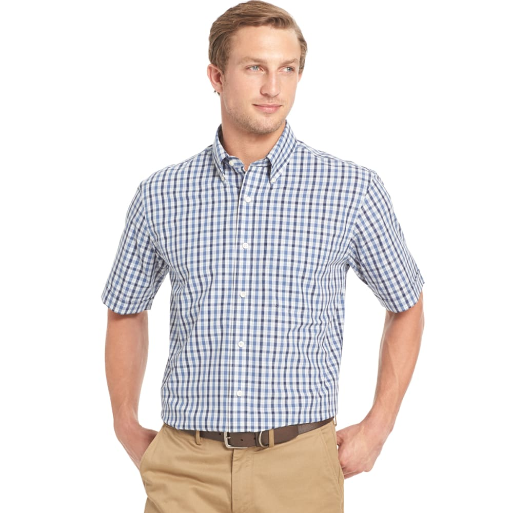 ARROW Men's Hamilton Poplin Short-Sleeve Shirt - 465-SKYWAY